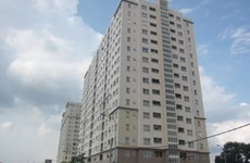 Viglacera builds apartments for workers at industrial park