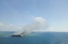 Indonesia: At least five killed in ferry fire