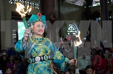 Mother Goddess worship festival underway in Yen Bai