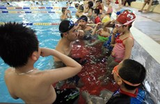 Fewer than one-third of Vietnamese children can swim