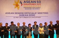 ASEAN senior officials meet in Philippines
