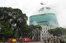 HCM City considers use of helipads on high-rises