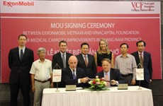 ExxonMobil funds medical equipment purchase in Quang Nam