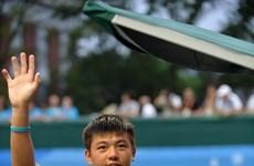 Nam through to Singapore tennis event's second round