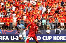 U20 World Cup: Vietnam loses 0-2 to Honduras