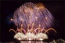 Spectacular light feast at Da Nang int'l fireworks festival