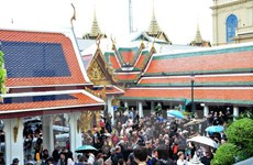 Tourists welcomed to Thailand during royal cremation in October