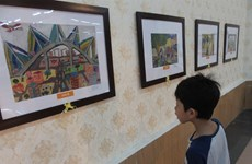 Kids' art goes on display in capital
