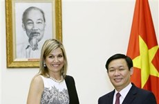Vietnam, Netherlands share visions on financial policy enforcement