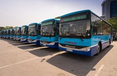 Hanoi adds 15 new buses