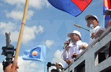 Cambodia wraps up campaign for communal elections