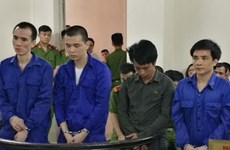 Hanoi court gives jail sentences to transnational drug dealers