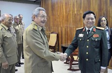Vietnam, Cuba enhance defence partnership