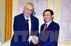 Deputy PM hails Czech President's visit