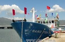 Steel-coated ships support Binh Dinh fishermen