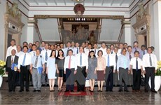HCM City vows to support diplomats in promoting foreign relations