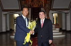 HCM City boosts cooperation with RoK province