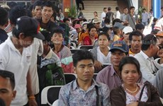 Thailand to apply new migrant worker law