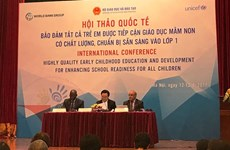 Vietnam seeks early childhood education
