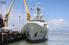 Japan Coast Guard vessel visits Da Nang