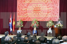 Vietnam-Cuba friendship meeting held in Hanoi
