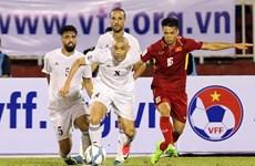 Vietnam tie goalless with Jordan