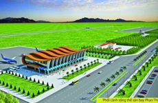 Authorities push Phan Thiet airport construction
