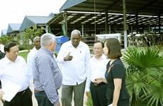 Cuban top legislator visits Son La province