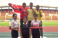 Vietnamese athletes win three golds at Thailand Open