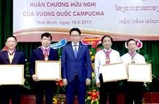Thai Binh University of Medicine and Pharmacy honoured by Cambodia