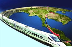 Thai PM pushes forward railway construction project with China