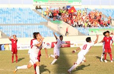 Vietnam maintain lead in U15 competition