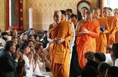 Thailand's Supreme Patriarch greets Vietnamese ambassador