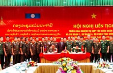 Vietnam's Military Zone 4, Laos's military build peace border