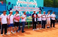Tennis tournament connects OVs in Ukraine