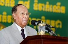 Cambodian NA President Heng Samrin begins official visit to Vietnam