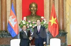 President hails Cambodian NA President's visit