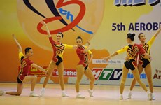 Foreign aerobics coaches receive training in Hanoi