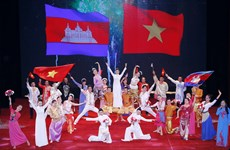 Grand ceremony marks 50 years of Vietnam-Cambodia diplomatic ties