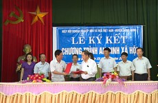 SMEs assist disadvantaged households in Thai Binh province