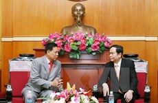 Vietnam, Cambodia foster front cooperation