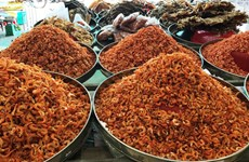 Ca Mau dried shrimp listed in top 10 specialties of Vietnam