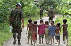 Vietnam affirms political determination to join UN peacekeeping mission