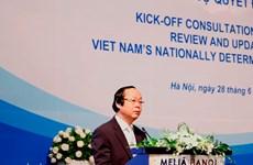 Vietnam kicks off update of NDCs to realise Paris Agreement