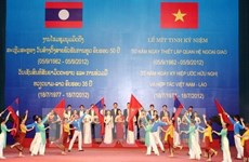 Quang Nam boosts cooperation with Lao localities