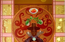 Korean-Vietnamese art contest names winners