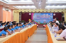 Dong Thap children raise voices against violence