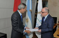 Argentine FM hails Vietnam development achievements