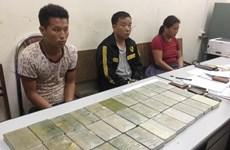 Five drug traffickers, 40 bricks of heroin seized in Son La