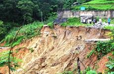 Rain-triggered floods, landslides kill six in Ha Giang